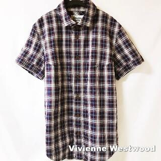 ヴィヴィアンウエストウッド(Vivienne Westwood)の【Vivienne Westwood MAN】刺繍ORB アンドレス シャツ(シャツ)