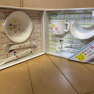 mikihouse - 【新品未使用】ミキハウス 離乳食食器セット