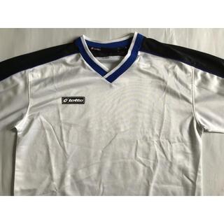 ロット(lotto)のロット プラクティスシャツ lottoゲームシャツ Tシャツ サッカーフットサル(Tシャツ/カットソー(半袖/袖なし))