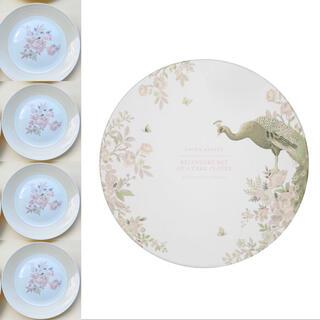 ローラアシュレイ(LAURA ASHLEY)のベルヴェデーレ ケーキプレート4枚 化粧箱入り 新品(食器)