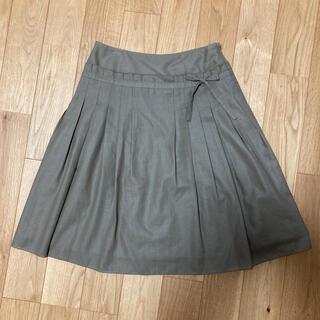 オリーブデオリーブ(OLIVEdesOLIVE)のフレアスカート プリーツスカート オリーブ デ オリーブ(ひざ丈スカート)