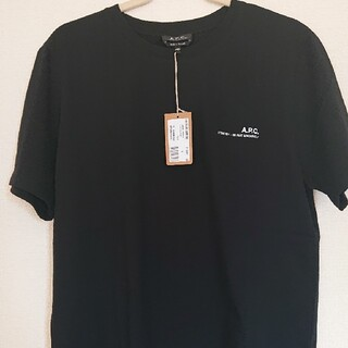 A.P.C - A.P.C. Tシャツ スモールロゴTシャツ 黒
