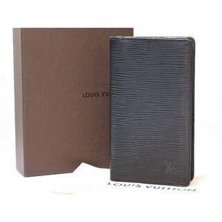 ルイヴィトン(LOUIS VUITTON)のルイヴィトン エピ アジェンダポッシュ 手帳カバー ノワール R20522 LV(手帳)