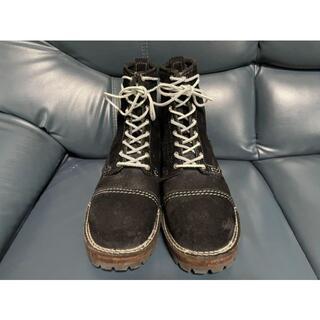 ウエスコ(Wesco)の美品WESCOジョブマスターUS10.5 3Eラフアウト (ブーツ)