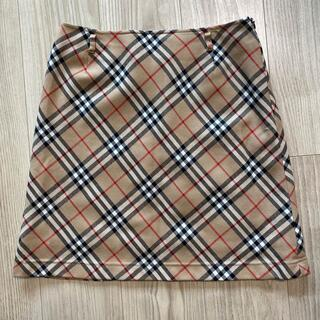 Burberry BLUELABEL 台形スカート