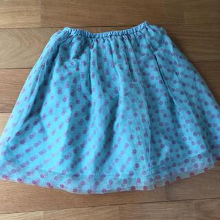 ユニカ(UNICA)の美品★ユニカ 130センチ リバーシブルスカート(スカート)