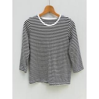 ムジルシリョウヒン(MUJI (無印良品))の無印良品 Tシャツ 長袖 ボーダー ロンT レディース L(Tシャツ(長袖/七分))