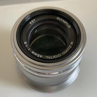 オリンパス(OLYMPUS)のオリンパス M.ZUIKO DIGITAL 45mm F1.8(レンズ(単焦点))