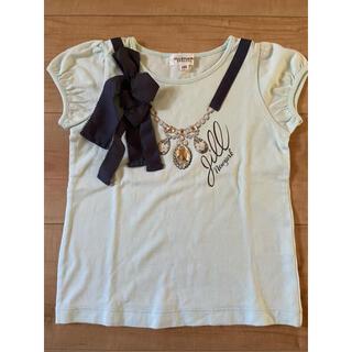 ジルスチュアートニューヨーク(JILLSTUART NEWYORK)のジルスチュアート Tシャツ 水色 110(Tシャツ/カットソー)