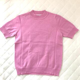 エクリュフィル(ecruefil)のecruefil 半袖ニット サマーニット(Tシャツ/カットソー(半袖/袖なし))