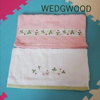 WEDGWOOD - WEDGWOOD ウェッジウッド フェイスタオル&ハンドタオル 新品