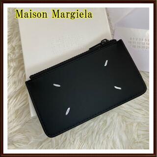 マルタンマルジェラ(Maison Martin Margiela)の人気アイテム!新品【メゾンマルジェラ】コイン&カードケース 黒(コインケース/小銭入れ)