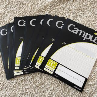 コクヨ(コクヨ)のキャンパスノート 英語 15段 campus 8冊(ノート/メモ帳/ふせん)