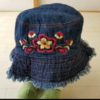 ザラ(ZARA)の新品☆50㎝ pumpkinpatch デニムハット(帽子)