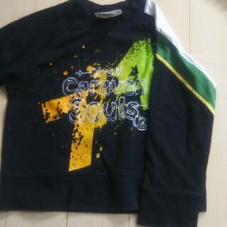 ディーゼル(DIESEL)のDIESEL ディーゼル キッズ トレーナー Tシャツ 4歳 106㎝ 中古(Tシャツ/カットソー)