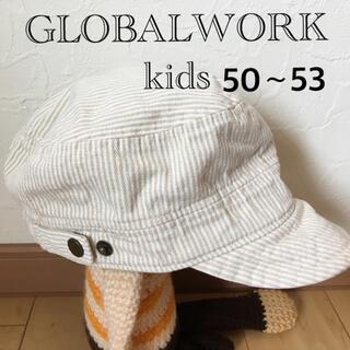 グローバルワーク(GLOBAL WORK)のグローバルワークキャスケット(帽子)