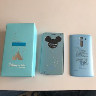 ディズニー(Disney)のディズニーモバイルDM-01G ブルー(スマートフォン本体)