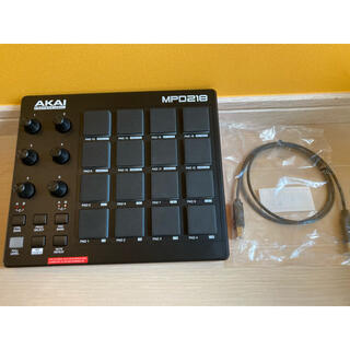 AKAI MPD218(MIDIコントローラー)