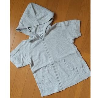 スキップランド(Skip Land)のスキップランド 120センチ 半袖パーカー(Tシャツ/カットソー)
