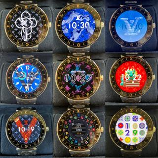 ルイヴィトン(LOUIS VUITTON)のルイヴィトン スマートウォッチ タンブール ホライゾン QA003Z 保証書  (腕時計(デジタル))