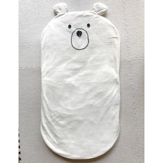 ニシマツヤ(西松屋)のクマ型 ふんわりマット(ベビー布団)