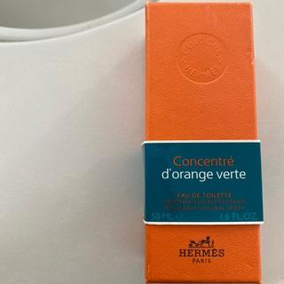 エルメス(Hermes)のHERMES オードランジュヴェルトコンセントレ オードトワレ EDT 50ml(香水(男性用))