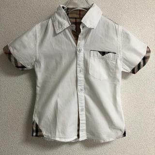 バーバリー(BURBERRY)の【美品】韓国子供服 半袖シャツ(ブラウス)