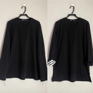 Y-3 - 【極美品】Y-3 デザイン ロングTシャツ yohji ワイスリー