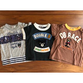 ダブルビー(DOUBLE.B)のダブルビー ミキハウス Tシャツ(Tシャツ)