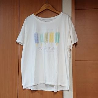 スタディオクリップ(STUDIO CLIP)のstudio CLIP  アイス柄Tシャツ スタジオクリップ(Tシャツ(半袖/袖なし))