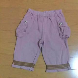 エニィファム(anyFAM)のanyFAM エニィファム ズボン ハーフ パンツ  ピンク 110cm(パンツ/スパッツ)