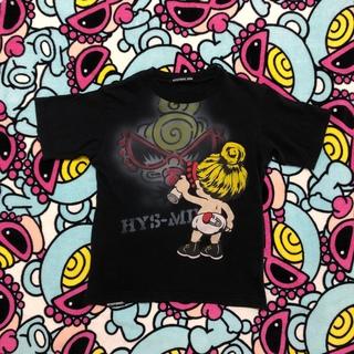 ヒステリックミニ(HYSTERIC MINI)のスプレーティー🖤(Tシャツ/カットソー)