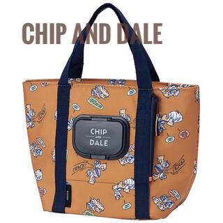 チップ&デール - チップとデール  ウェットティッシュポケット付ランチバッグ  ランチバッグ 新品