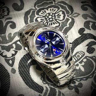 ヴィヴィアンウエストウッド(Vivienne Westwood)の廃番品 アーマーリングウォッチ シルバー ブルー hyde  yasu(腕時計)