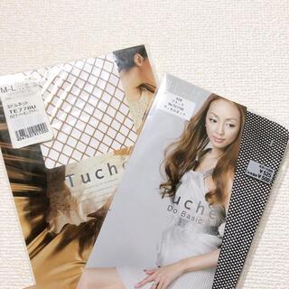 グンゼ(GUNZE)の【Tuche】網ストッキング 2枚セット(タイツ/ストッキング)