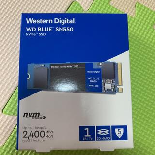 Western Digital SSD 1TB WD Blue SN550(PCパーツ)