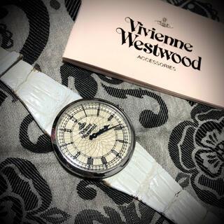 ヴィヴィアンウエストウッド(Vivienne Westwood)の激レア 廃番品 ヴィヴィアン    腕時計 ホワイト hyde yasu(腕時計)