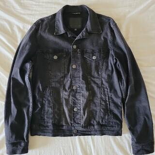 アメリカンイーグル(American Eagle)のAMERICAN EAGLE ブラックデニムジャケット 美品(Gジャン/デニムジャケット)