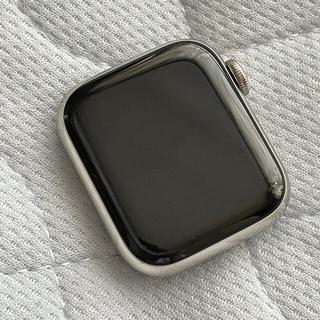 アップル(Apple)のApple Watch series5 シルバーステンレス 40mm(腕時計(デジタル))