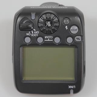 キヤノン(Canon)のCANON キャノン スピードライト トランスミッター ST-E3-RT 美品(ストロボ/照明)