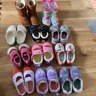ニシマツヤ(西松屋)のバラ売り可◯ 女の子 靴 まとめ売り 14cm〜15.5cm(スニーカー)
