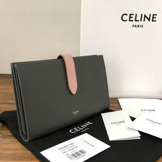 セリーヌ(celine)の未使用品 CELINE ラージストラップウォレット セリーヌ 104(財布)