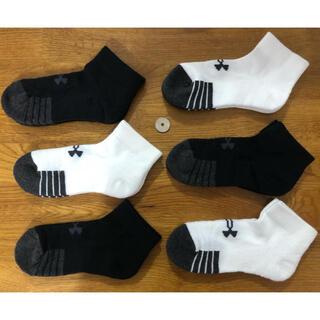 アンダーアーマー(UNDER ARMOUR)の新品アンダーアーマーUNDER ARMOUR 子供靴下6足セット^ ^(靴下/タイツ)