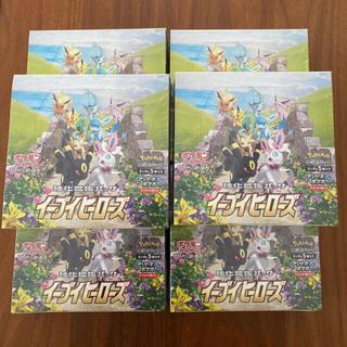 ポケモンカード  イーブイヒーローズ6box 新品未開封 シュリンク付(Box/デッキ/パック)
