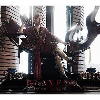 PLAYFUL 初回盤B 堂本光一CD+DVD クリアファイルとキーホルダー付(ミュージック)