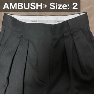 アンブッシュ(AMBUSH)のAMBUSH High Waist Suit Pants Trousers (スラックス)