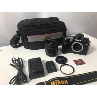 ニコン(Nikon)のNikon D70 デジタル一眼レフカメラ すぐに撮影出来ます。(デジタル一眼)