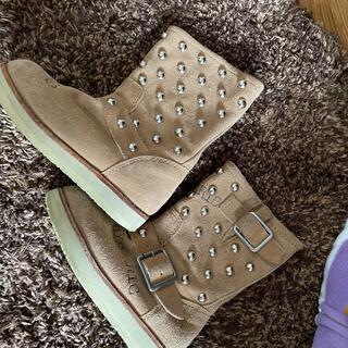 ヒステリックミニ(HYSTERIC MINI)のヒスミニ ブーツS(ブーツ)