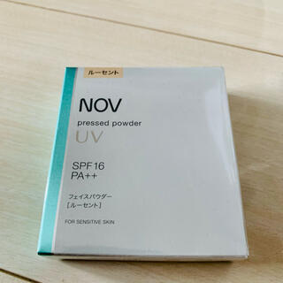 ノブ(NOV)のノブ プレストパウダー UV ルーセント フェイスパウダー リフィル(フェイスパウダー)