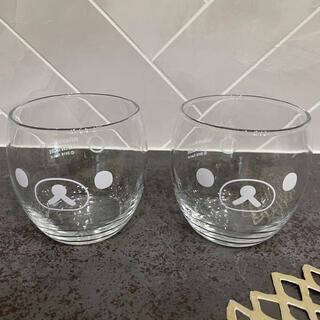 ローソン リラックマ グラス ペアセット(グラス/カップ)